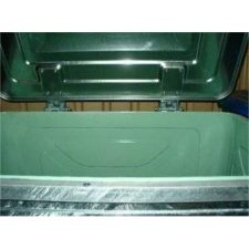 Stahlcontainer 800 l mit säurefester Innenbeschichtung - Contena-Ochsner Onlineshop